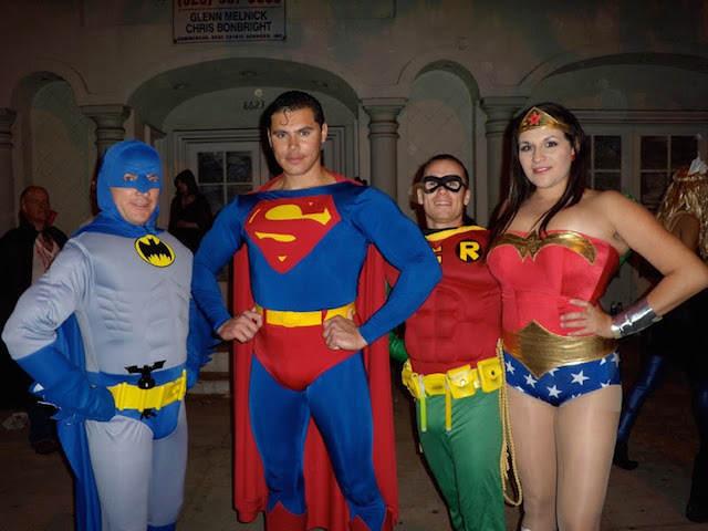 Capitán América Mujer Maravilla otros héroes disfraces interesantes