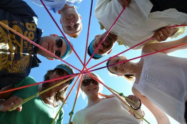 actividades en equipo aire libre