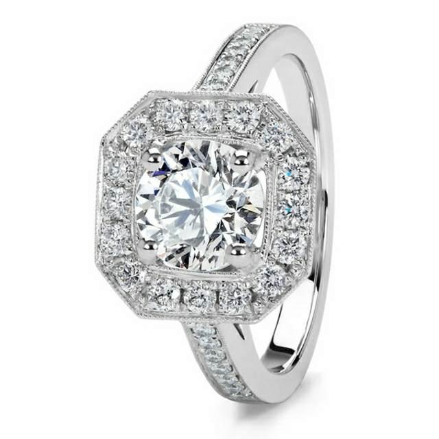 anillo para noviazgo diamante