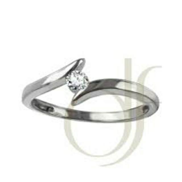 anillo de diamante para noviazgo
