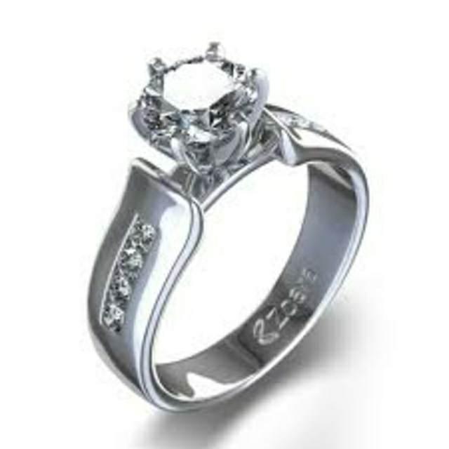 anillo de diamante bonito vintage noviazgo