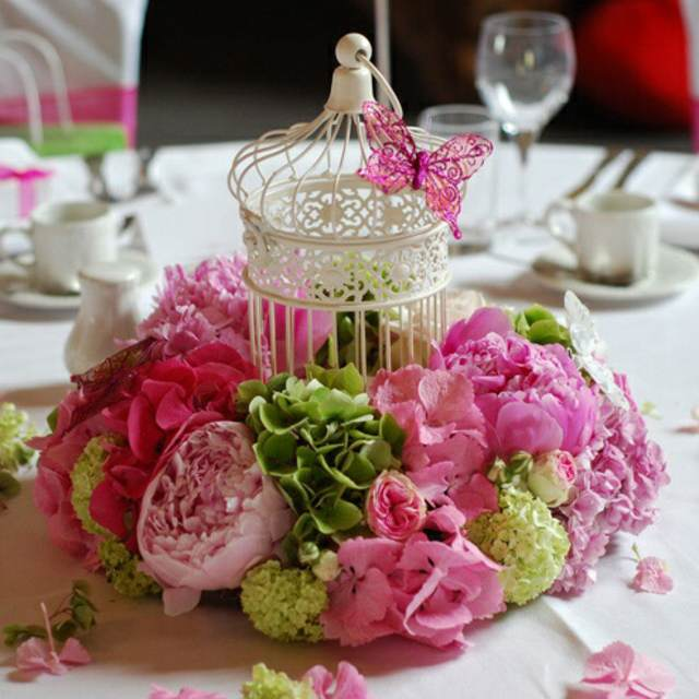arreglos de mesa unas flores preciosas