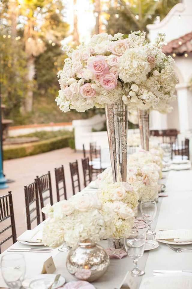 arreglos florales centros de mesa una combinación hermosa