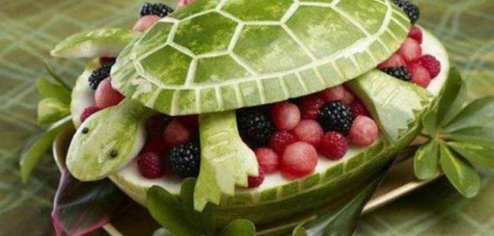 arreglos-frutales-forma-tortuga-uvas