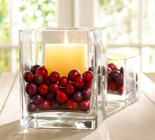arreglos mesa decoración bonita una vela