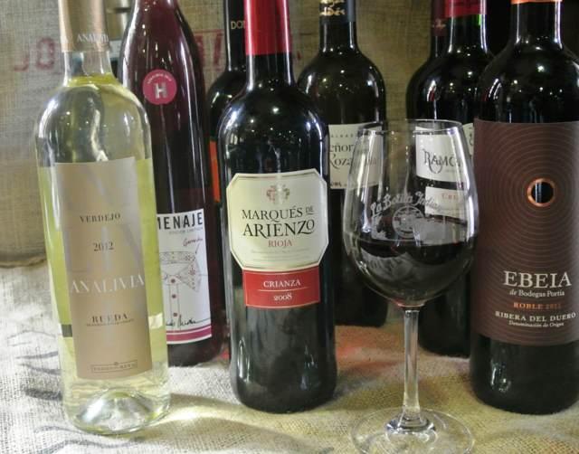 banquete las bebidas vinos