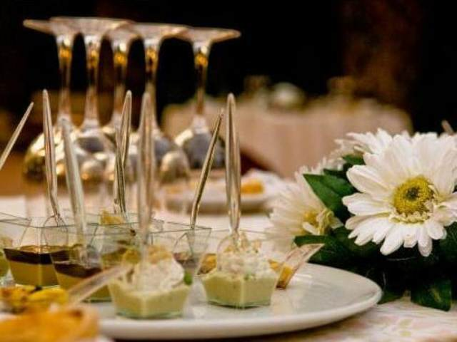 banquetes catering dulces una decoración