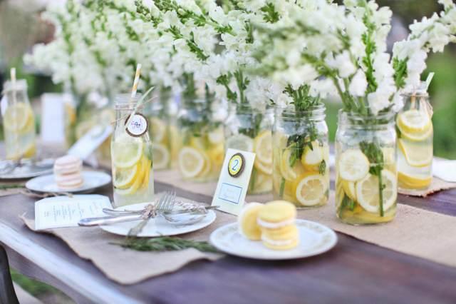 boda centros de mesa ideas originales