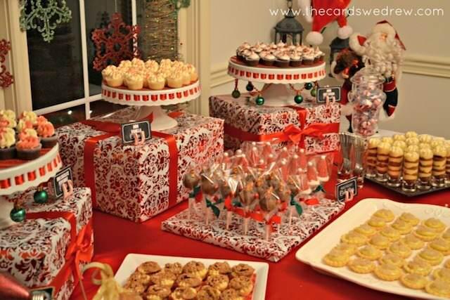 catering decoración navideña evento corporativo