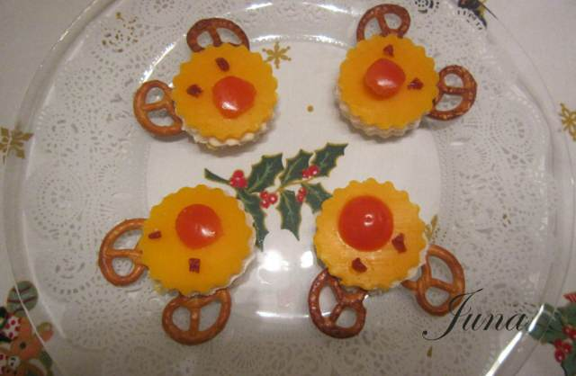 galletas en forma de ciervos