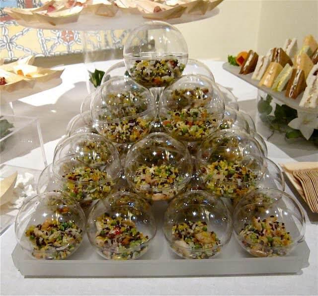 catering exótico bien decorado para eventos