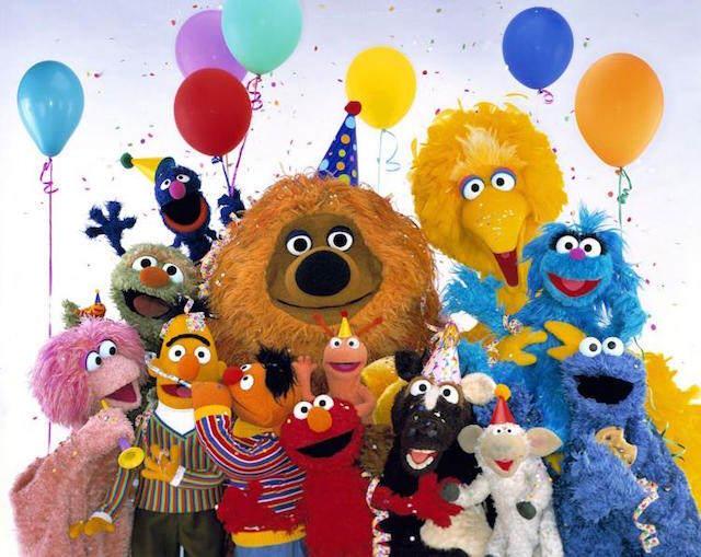 frases de cumpleaños celebración todos amigos los Muppets