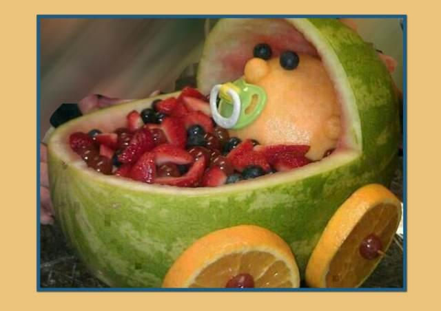 cesta de frutas una decoración magnífica