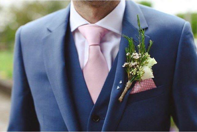 combinación tendencias modernas 2015 detalles color rosa flor amarillo