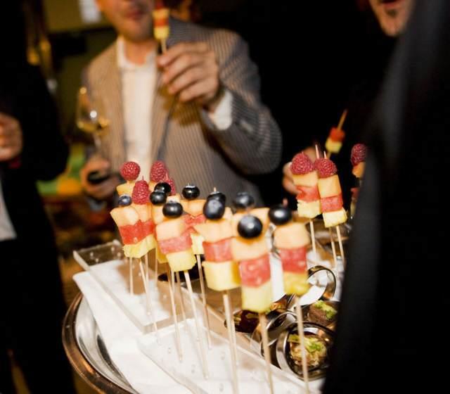 comida evento social y empresarial