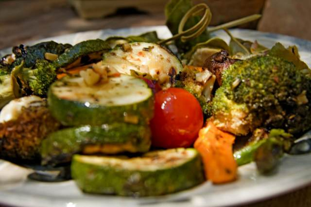 comida vegetariana unas recetas