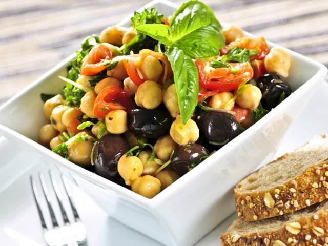 comida vegetariana ensalada vida saludable