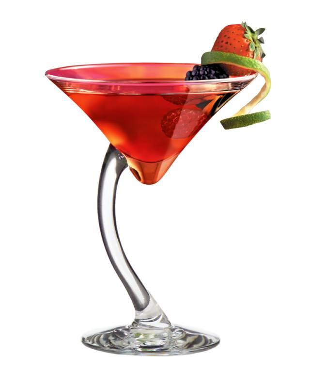 cosmopolitan cóctel color rojo decoración