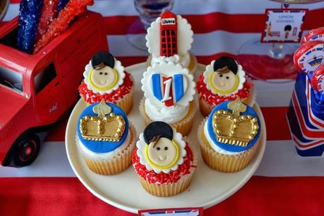 cumpleaños infantiles magdalenas decoradas elementos Londres
