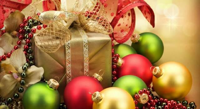 decoración unas bolas navidad