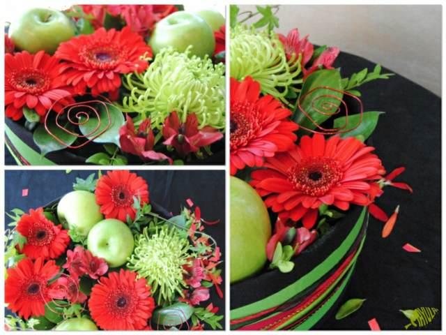 decoración banquetes unas ideas florales