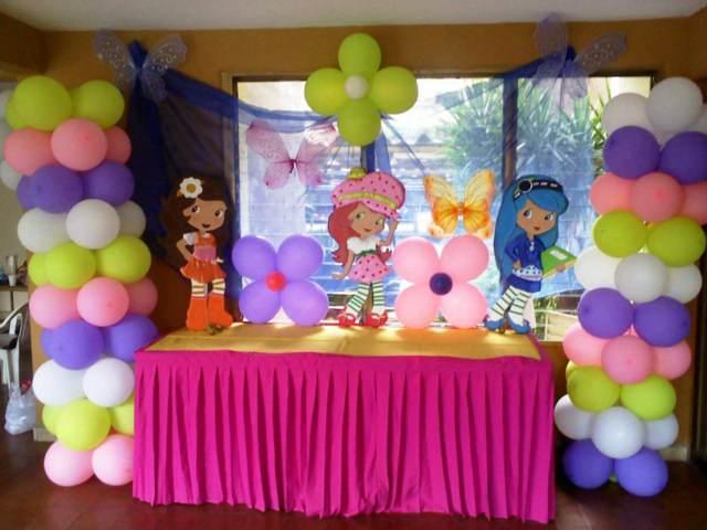 decoración de fiestas infantiles los globos