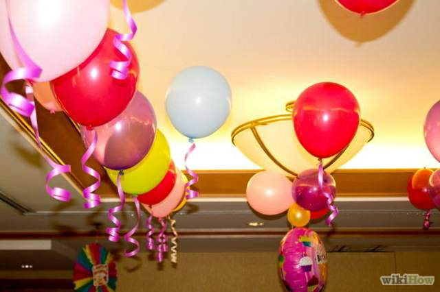 decoracion de globos de helio