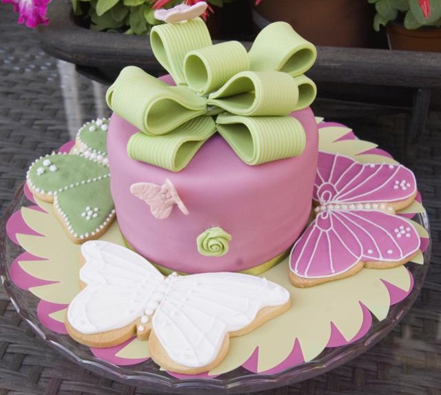decoración de tortas la idea maravillosa unos colores suaves