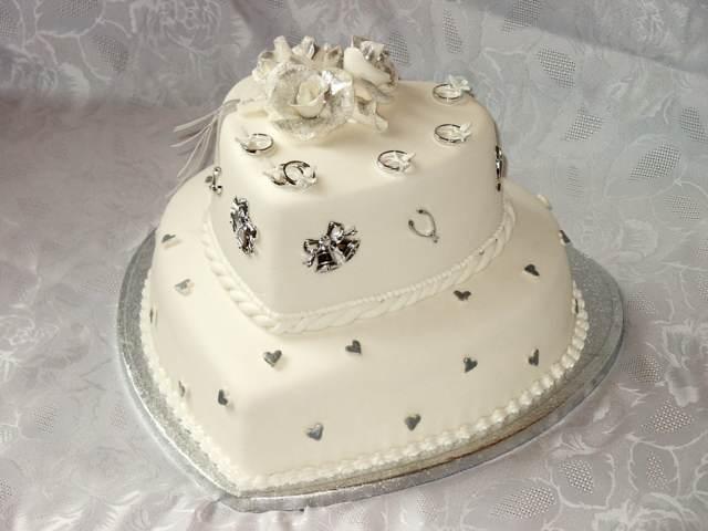 decoración elegante pastel maravilloso boda