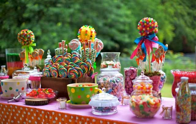 una decoracin fiestas infantiles chupetes