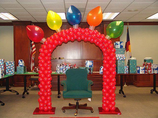 Decoracion Oficina Navide?a ~ decoraci?n navide?a divertida de la oficina y la silla del jefe