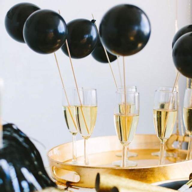 decoraciones con globos copas para cada fiesta