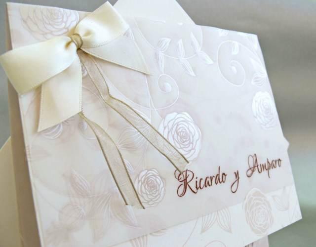 detalle de boda invitación hermosas de boda