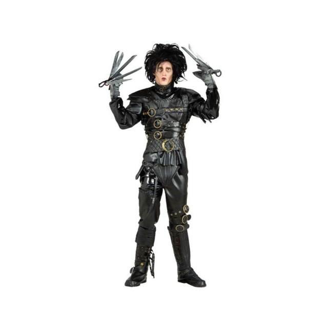 disfraz completo para Halloween Eduardo Manostijeras