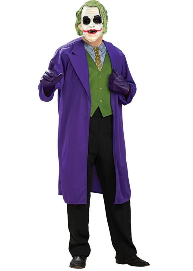 disfraz de hombre como joker personaje película