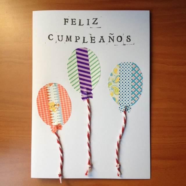 el día de cumpleaños unas tarjetas originales