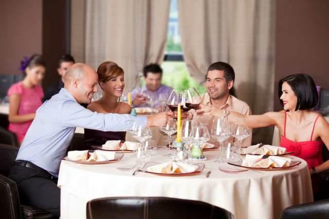 evento social un restaurante
