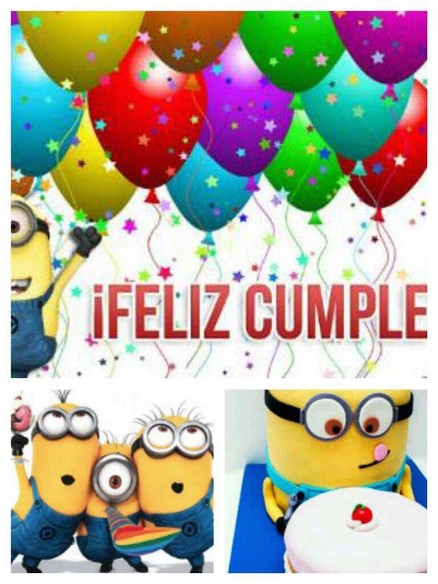 feliz cumpleaños frases divertidas minions