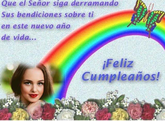 feliz cumpleaños Dios siga derramando bendición sobre ti
