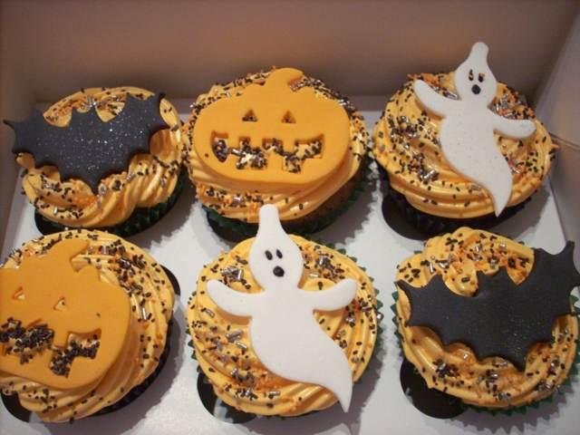 fiesta cupcakes tortas decoradas para halloween la noche de brujas