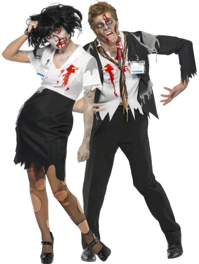 fiesta de halloween con disfraces temáticos