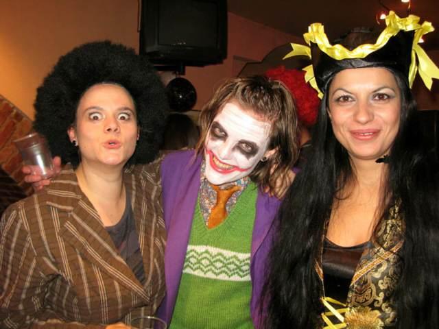 fiesta disfraces temáticos para Halloween