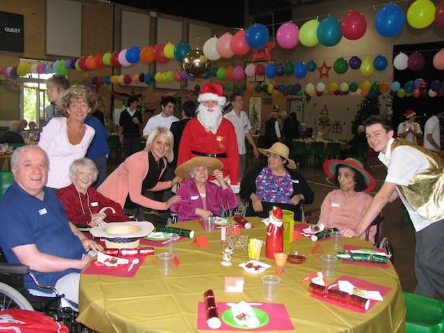 fiestas temáticas evento Navidad celebración personal