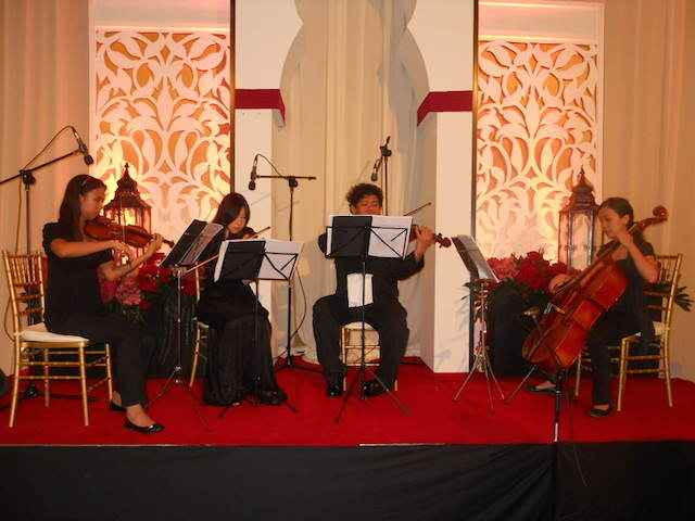 fiestas temáticas grupo de música clásica atmósfera