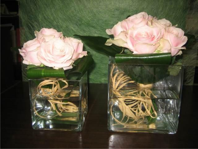 flores una decoración para la fiesta