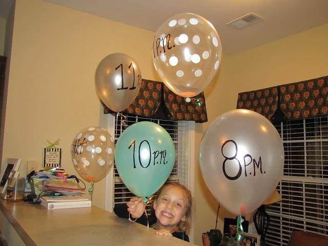globos con notas con deseos divertidos para fiesta infantil