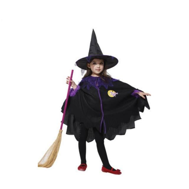 halloween disfraz de bruja niña