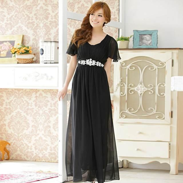 idea interesante en negro el vestido para cóctel