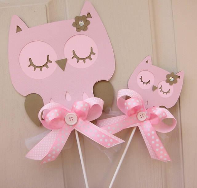 invitaciones diferente tamaño niña gatos color rosa