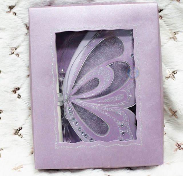 invitaciones para baby shower tema color lila modernos mariposa